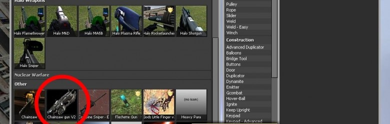 chainsaw_gunv2_spawn_icon.zip For Garry's Mod Image 1