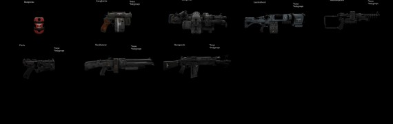 WTHC Weapons (Props)
