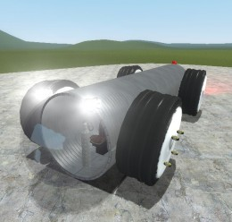 Vehicule Tube (DRIVABLE) For Garry's Mod Image 1