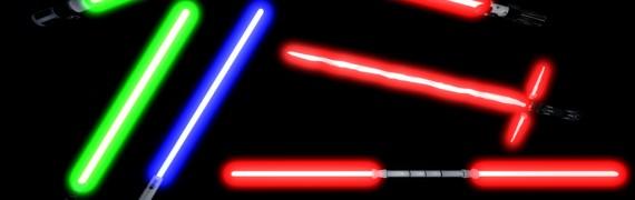 SW Battlefront II Lightsabers