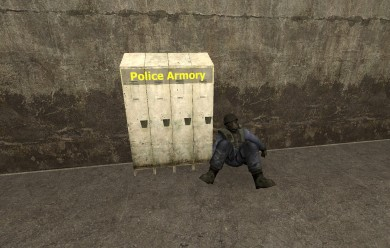 POLICE ARMORY | DARKRP For Garry's Mod Image 1