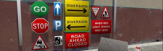 Road Signs Model Pack 2.1
