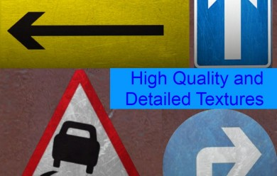 Road Signs Model Pack 2.1 For Garry's Mod Image 2