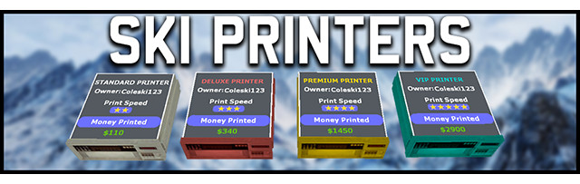 Ski Printers 1.0.2 For Garry's Mod Image 1
