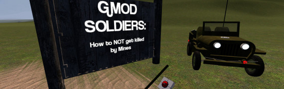 Gmod Soldiers: Minesweeper