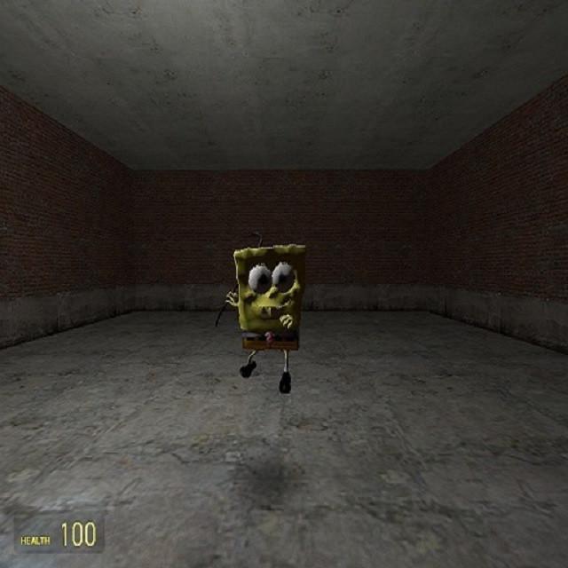 Spongebob playermodel by Yung Ivan   garrysmods org