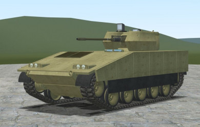 IFV-1 - ACF troop carrier For Garry's Mod Image 1