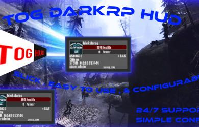 TOG - DarkRP HUD For Garry's Mod Image 1