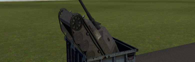 Crappy old Panzer4 For Garry's Mod Image 1