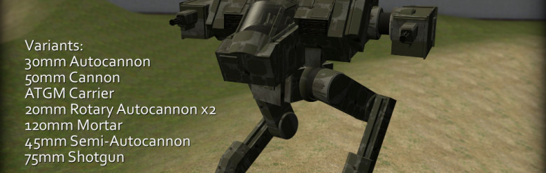 Meta's Stompy Mech Pack For Garry's Mod Image 1