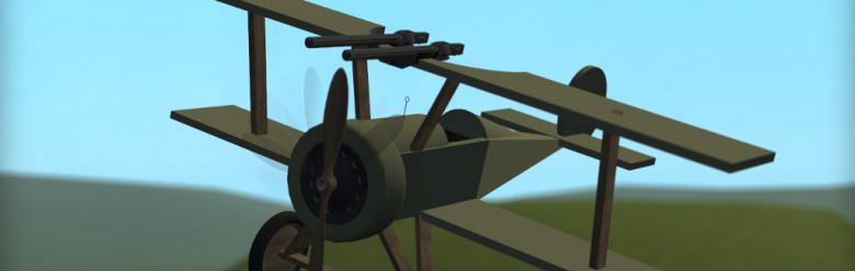 Meta's Mini WW1 Biplane For Garry's Mod Image 1