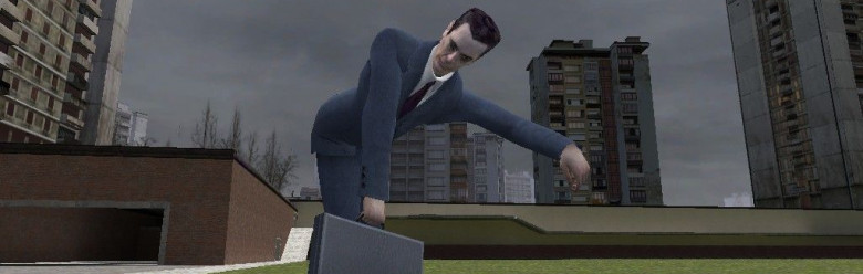 Controllable GMan For Garry's Mod Image 1