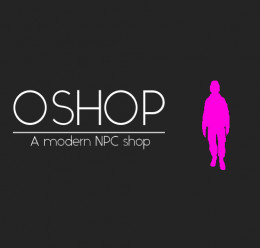 OShop - A modern NPC shop For Garry's Mod Image 1