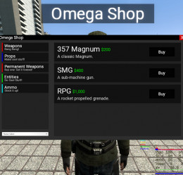 OShop (NPC Shop/Perma Weapons) For Garry's Mod Image 2