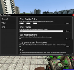 OShop (NPC Shop/Perma Weapons) For Garry's Mod Image 3