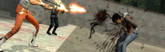 Left 4 Dead 2 Death Animations