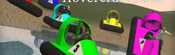 Meta's Racing Hovercraft Pack