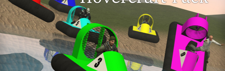 Meta's Racing Hovercraft Pack For Garry's Mod Image 1