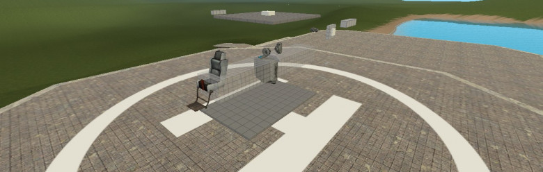 Gaghr's Basic ACF Fin Heli For Garry's Mod Image 1