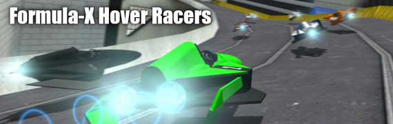 Formula-X Hover Racers