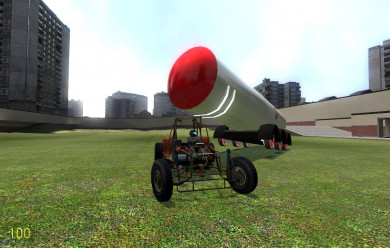Drivable Explodable For Garry's Mod Image 2