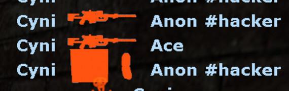 Consistent M9K Killicons