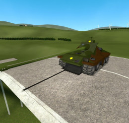 M1 Heavy Gun Carriage For Garry's Mod Image 1