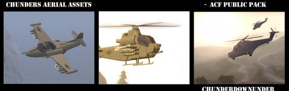 Chunder's Aerial Assests