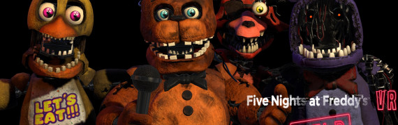 FNAF VR Withered Models