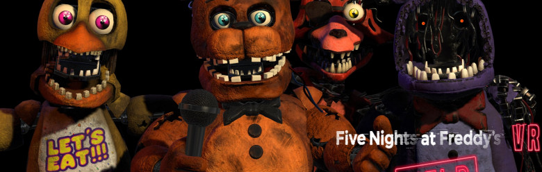 FNAF VR Withered Models For Garry's Mod Image 1