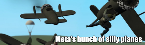 Meta's bunch of silly planes