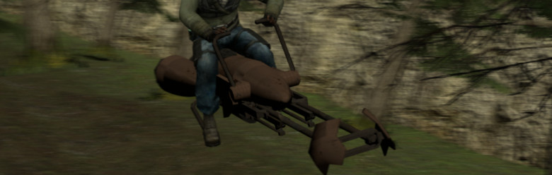 Meta's Speeder Bike Rip-off For Garry's Mod Image 1
