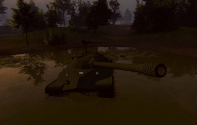 ACF Tank IS-7 For Garry's Mod Image 1