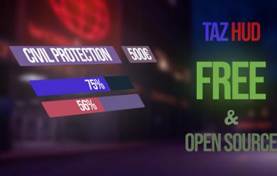 Taz HUD For Garry's Mod Image 1
