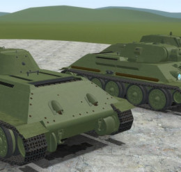 ACF-ACE T-34 1941 and T-34 57 For Garry's Mod Image 2
