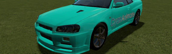 CyanAnimate Skin for TDM Cars