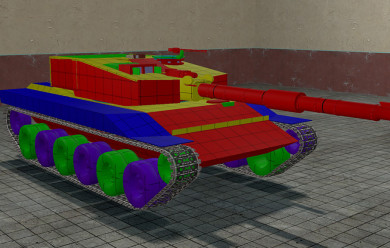 [ACF2] T-39 Main Battle Tank For Garry's Mod Image 1