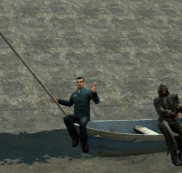 Drivable wooden boat For Garry's Mod Image 2