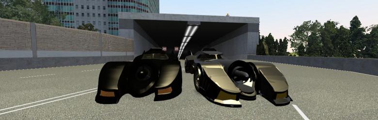 [ACF]Batmobile1989 (Prop2Mesh) For Garry's Mod Image 1