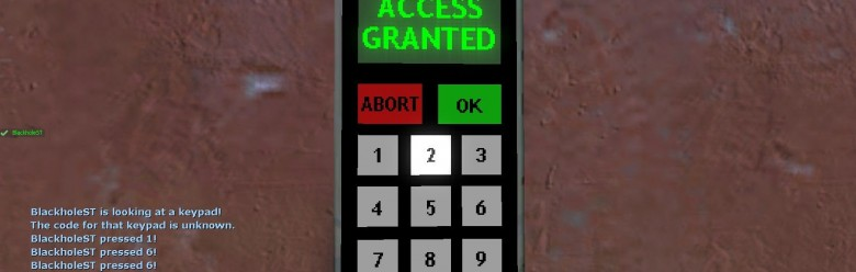 Blackhole's Keypad Hacker For Garry's Mod Image 1