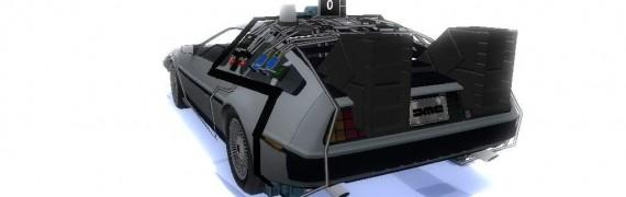 BTTF Delorean replica MK III