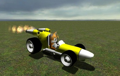 tails_drift.zip For Garry's Mod Image 2