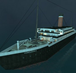 RMS Honourable (Sinkable) For Garry's Mod Image 1