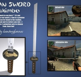 Ninja Swords v3 For Garry's Mod Image 2