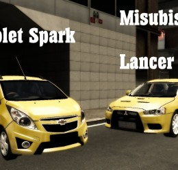 Mecklenburg Taxi Skin Pack For Garry's Mod Image 2