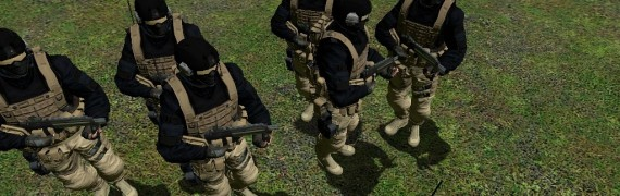 pmc soldier rebels replacment.