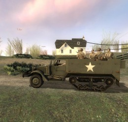 Day of Defeat Halftrack For Garry's Mod Image 1