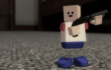 Blockland Shotgun and Sniper For Garry's Mod Image 1