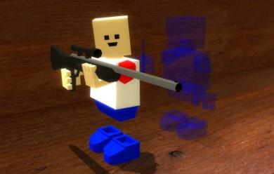 Blockland Shotgun and Sniper For Garry's Mod Image 2