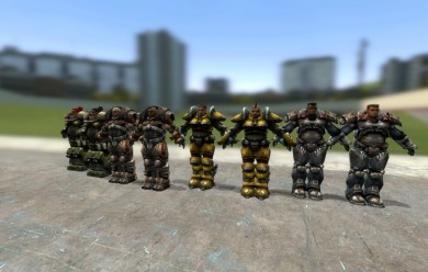 UT2004 Juggernauts Playermodel For Garry's Mod Image 2